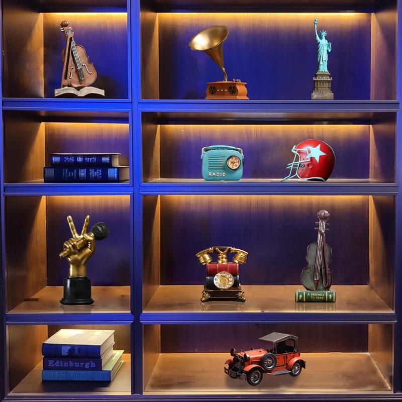 工艺品储物柜酒店酒瓶摆设酒柜装饰品摆件现代简约时尚北欧风大气