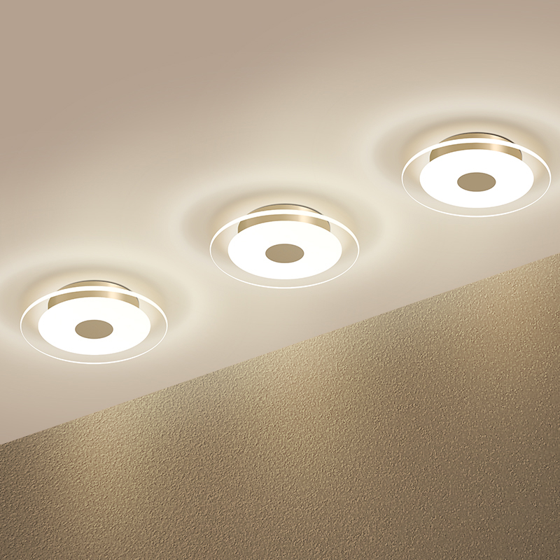 led recessed ceiling lights. Spotlight Downlight Led Recessed Ceiling Lamp Living Room Corridor Aisle Lights Hole Three-color Light Barrel
