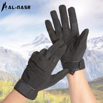Перчатки,  Аль nas на открытом воздухе тактический перчатки все фондовые индексы перчатки пригодный для носки специальный тип солдаты подъем рок верховая езда скольжение армия фанатов перчатки, цена 689 руб