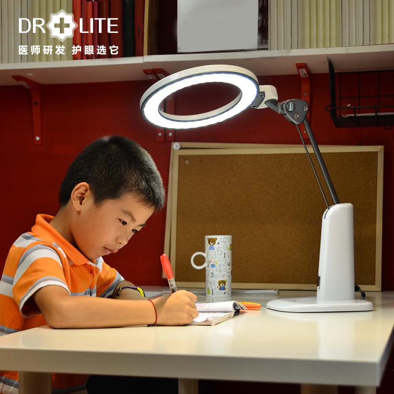 愛德華醫生天使之光防藍光兒童學生led護眼學習臺燈套餐少陰影