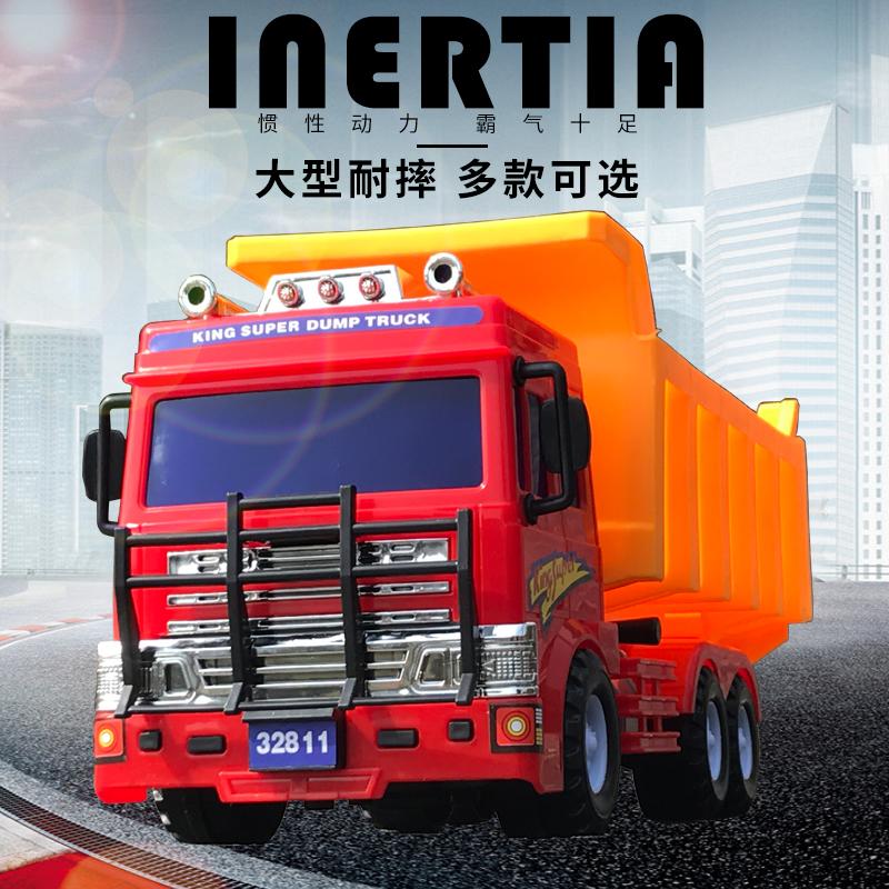 Экскаватор для грузовых автомобилей мужской ребенок детские Пожарная машина детские игрушечный