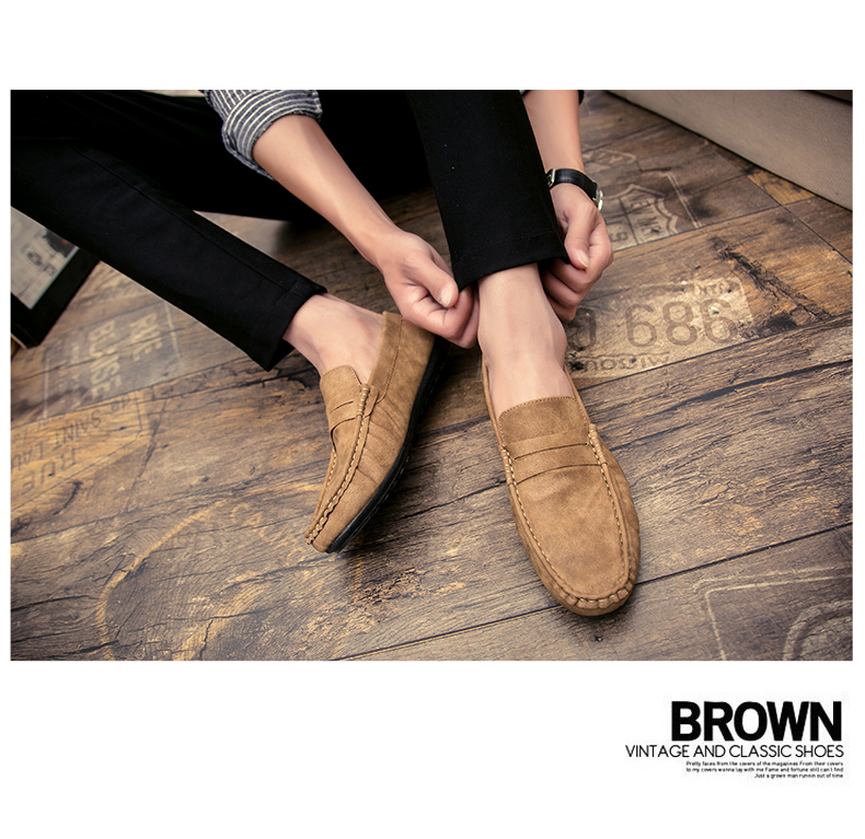 Spring and autumn new youth trend shoes flat comfortable casual men's shoes 54