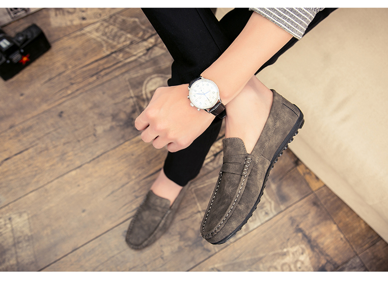 Spring and autumn new youth trend shoes flat comfortable casual men's shoes 65