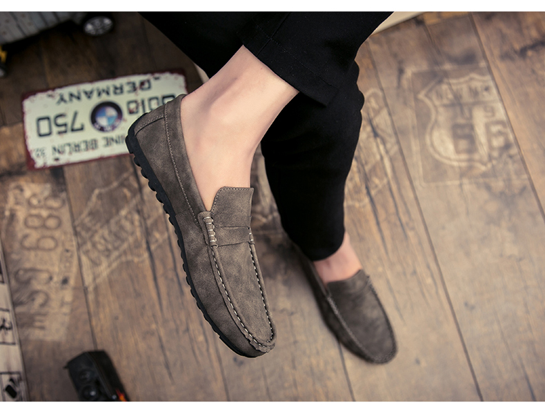Spring and autumn new youth trend shoes flat comfortable casual men's shoes 69
