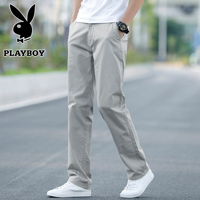 Flower Men's Casual Pants Loose Direct Suits Spring Pants Western Pants Spring and Autumn Trousers Summer
