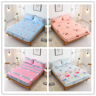Bed Sheet One-piece Bed Cover Simmons Protective Cover Dust Cover Thin Palm Mattress Cover 1.2/1.5/1.8m Bed