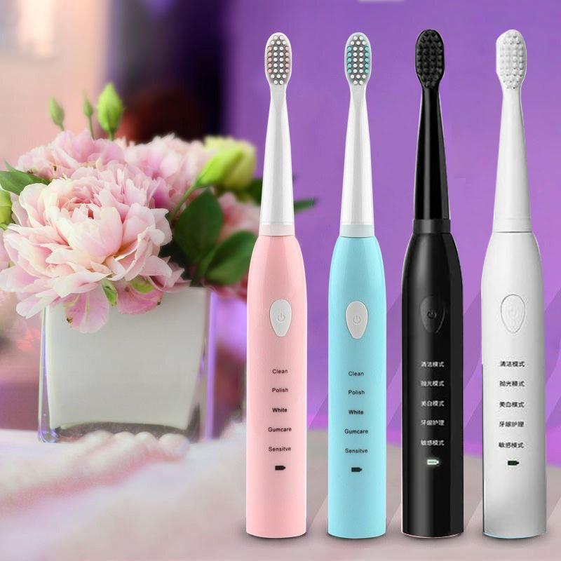 PAMPAS电动牙刷成人款情侣套装全自动充电式声波刷牙神器男士女