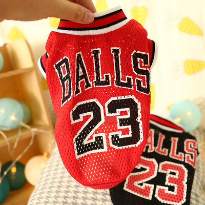 Dog clothes Teddy Bear small dog pet clothing Bomeiji doll puppies cat summer dress breathable vest