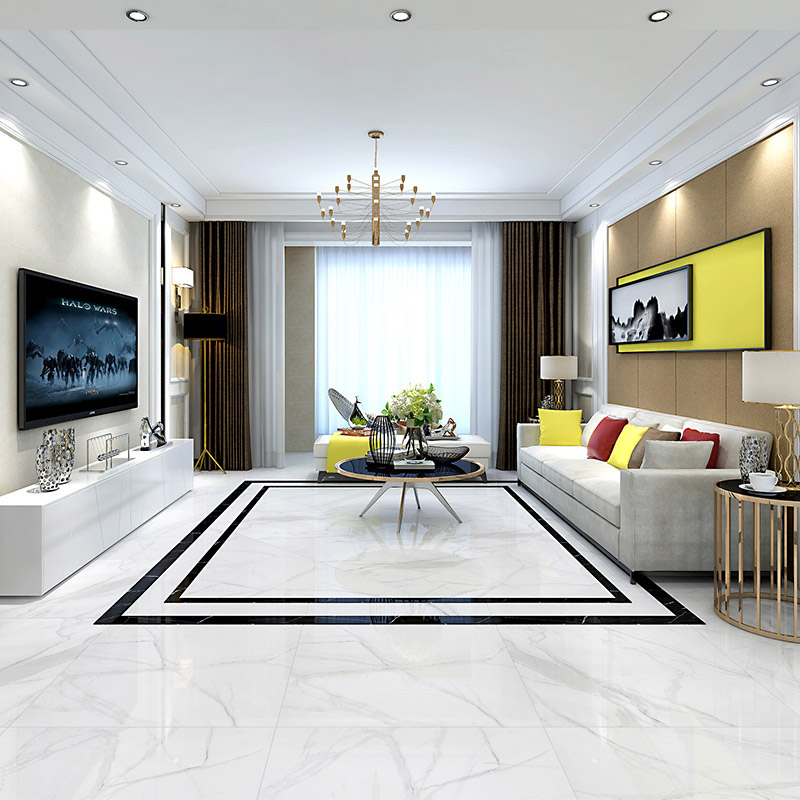USD 41.47] Wanmei Diamond Floor Tiles Jazz White Living Room Bedroom Non-slip Floor Tile Tile 800x800 Modern Minimalist - Wholesale From China Online Shopping | Buy Asian Products Online From The Best