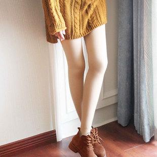 【猫人】秋冬加绒加厚显瘦保暖裤女
