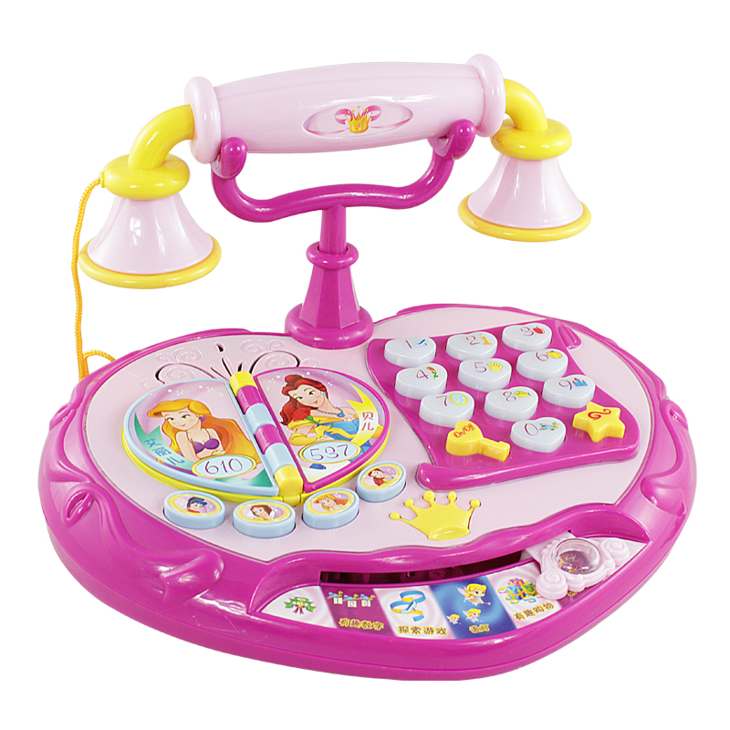 Princess Toys For 3 Year Olds : Polaroid princess telephone toys puzzle early education