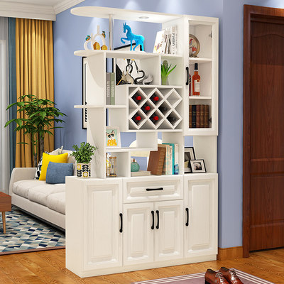 Entrance household double-sided partition entrance cabinet entrance hall cabinet shoe cabinet living room screen decoration cabinet wine cabinet coat cabinet screen