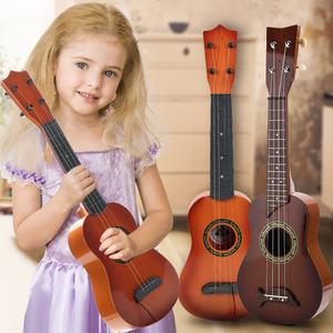尤克里里初学者儿童女孩小吉他男孩音乐玩具可弹奏乐器宝宝3-12岁