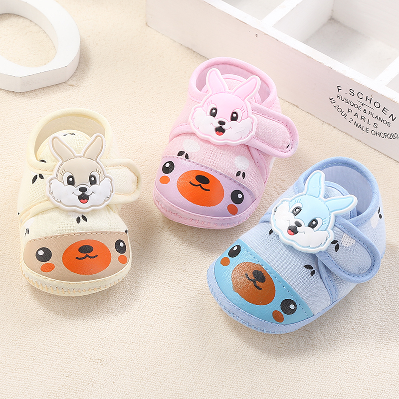 Baby shoes soft bottom shoes embroidered spring and autumn baby shoes  cotton toddler shoes 0- d80b55ad68