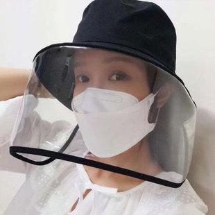 【防疫必备】韩国防飞沫带面罩遮阳帽