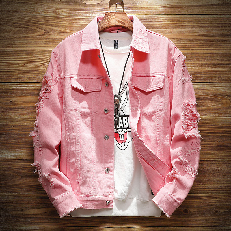 Usd 68 14 Denim Jacket Male 2018 New Korean Trend Youth Casual