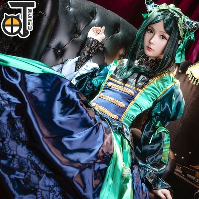 taobao agent 【Sanmachime】Black Butler Shire cos Shire Green Witch cosplay dress costume anime girl
