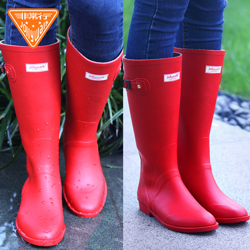 572eec78a4b ... very European and American fashion rain boots ladies rubber high tube rain  boots waterproof · Zoom · lightbox moreview · lightbox moreview · lightbox  ...