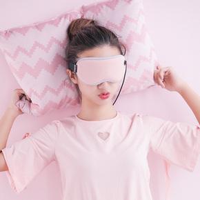 昕科蒸汽眼罩usb充电加热缓解眼疲劳