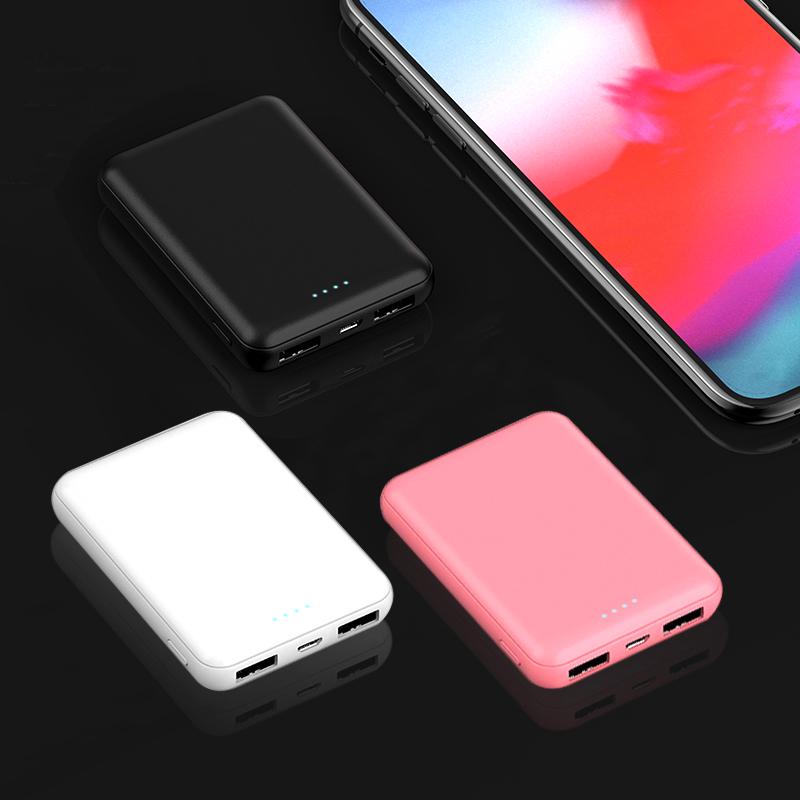 大容量充电宝迷你便携小巧可爱超薄移动电源10000毫安专适用小米苹果vivo华为手机通用1000000超大量石墨烯女