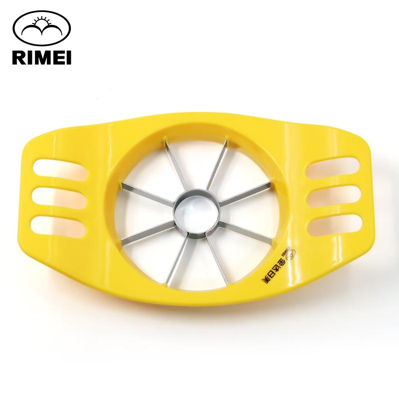 日美切果器多功能苹果切片器切块器不锈钢水果拼盘工具分割刀家用
