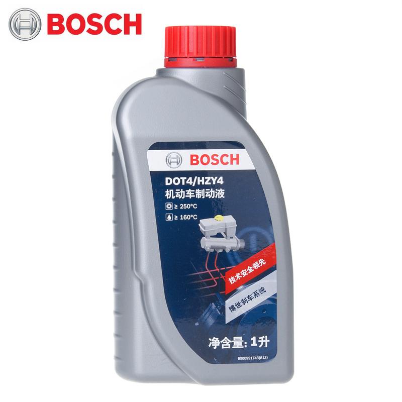 博世BOSCH刹车/轿车摩托车汽车油DOT4/1L装离合器油制动液