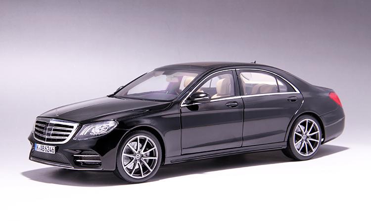 Xe mô hình tĩnh Mercedes-Benz S450L tỉ lệ 1:18 - ảnh 16