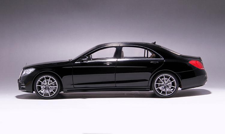 Xe mô hình tĩnh Mercedes-Benz S450L tỉ lệ 1:18 - ảnh 19