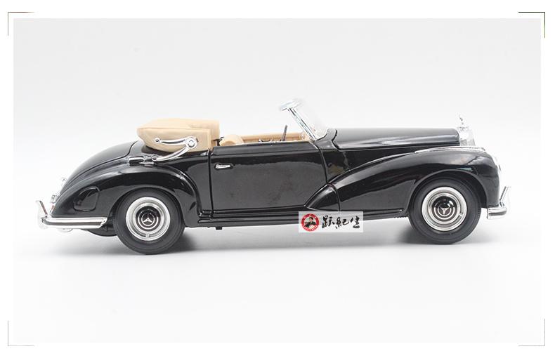 Xe mô hình tĩnh Mercedes-Benz 1955 tỷ lệ 1:18 - ảnh 3