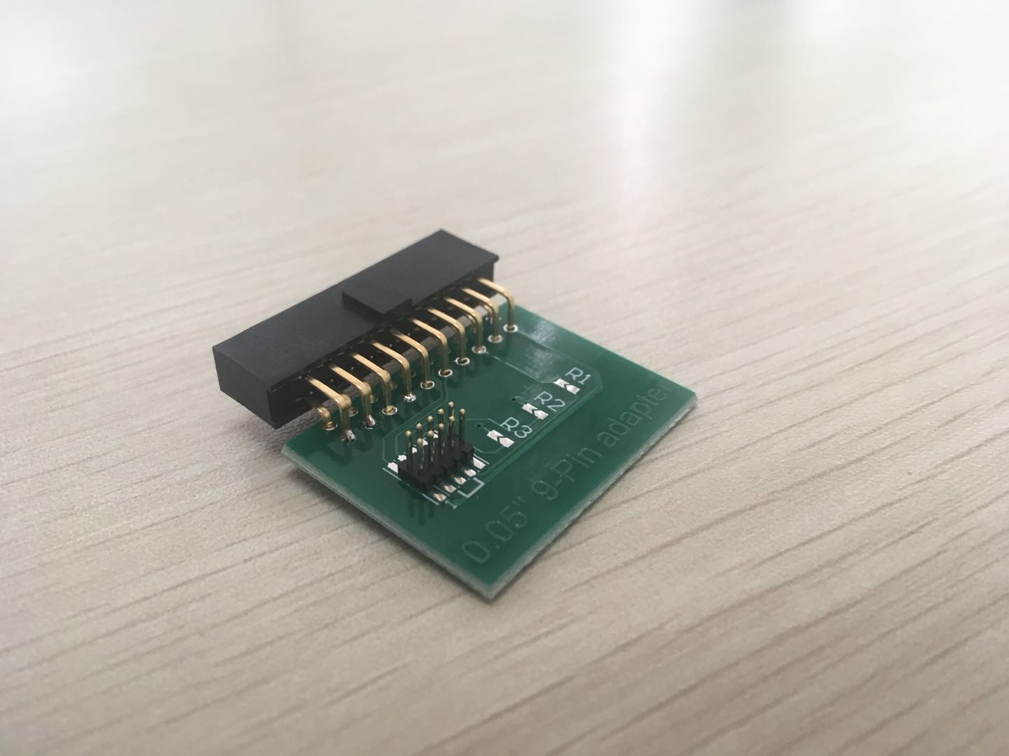 20 pin 2 54 pitch JTAG interface to 10 pin 1 27mm pitch SWD interface