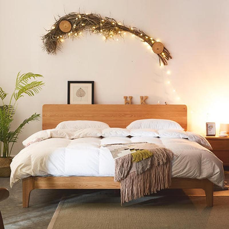 如何挑选长辈点赞的实木床,网购避坑指南