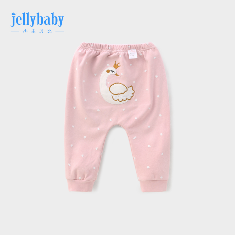 Baby pants spring and autumn 1 year old children fall pp pants girls Harlan trousers autumn 3 big ass pants female baby