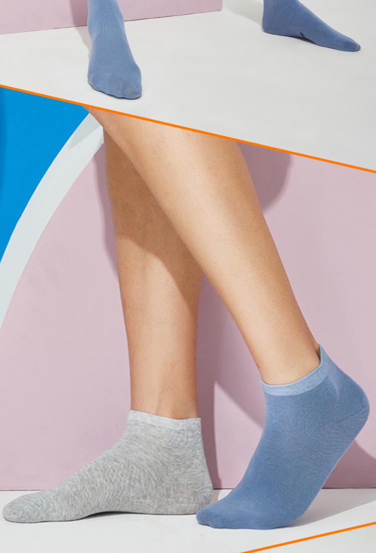 优臣品 男女 短款/中筒 抗菌防臭袜子 7双 图15