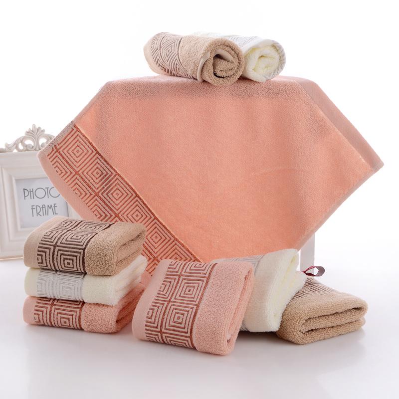 儿童方巾幼儿园专用正方形带挂钩加厚小毛巾全棉纯棉洗脸柔软吸水
