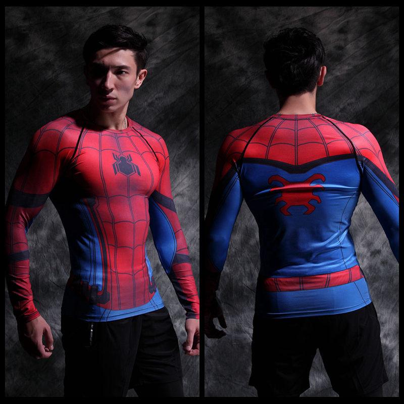 Vêtement fitness homme Hero manches longues en LYCRA Lycra - Ref 603249 Image 10