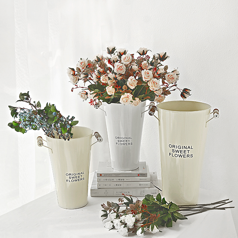 Usd 1139 State Life Nordic Retro Iron Flower Bucket Simple