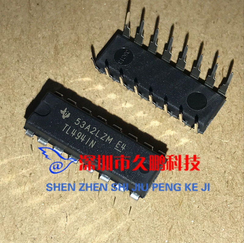 TL494IN TL494CN TL494 switching power supply frequency pulse width  modulation inverter chip DIP-16