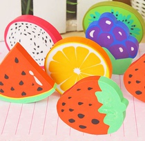 Student Children creative cute cartoon stationery eraser fruit eraser