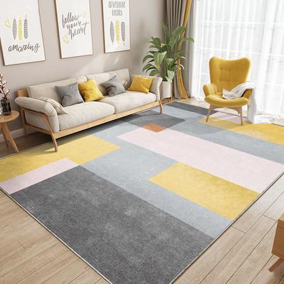 现代简约地毯客厅卧室北欧风床下大面积满铺房间家用沙发茶几地垫