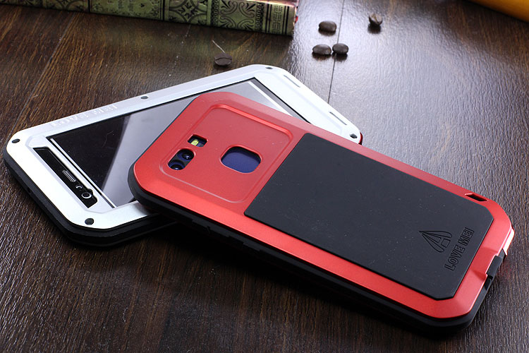 LOVE MEI Powerful Water Resistant Shockproof Dust/Dirt/Snow Proof Aluminum Metal Case Cover for Huawei P9 Plus & Huawei P9