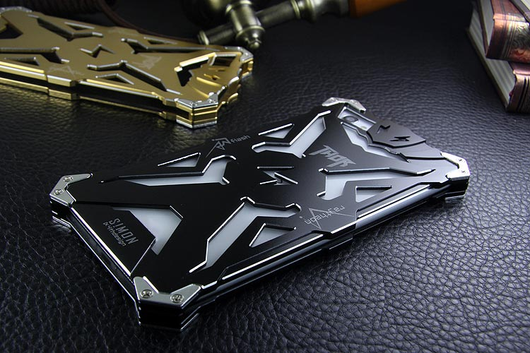 SIMON THOR Aviation Aluminum Alloy Shockproof Armor Metal Case Cover for vivo X5Pro