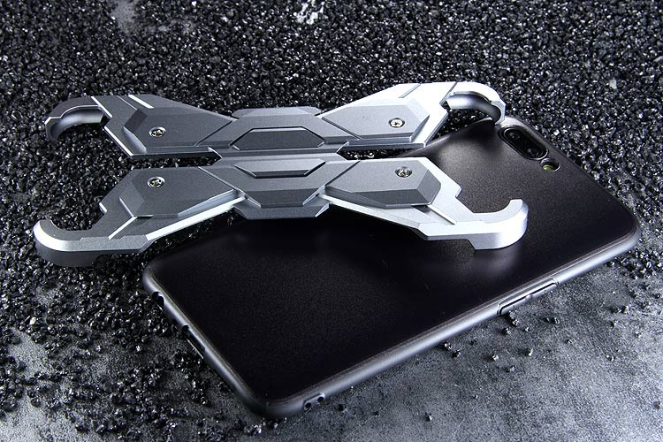 Luphie Neo Armor EVA Wings Shockproof TPU Metal Case Cover for OPPO R11 & OPPO R11 Plus