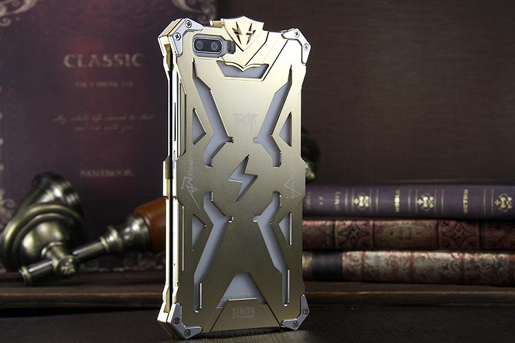 SIMON THOR Aviation Aluminum Alloy Shockproof Armor Metal Case Cover for Huawei Honor 6 Plus