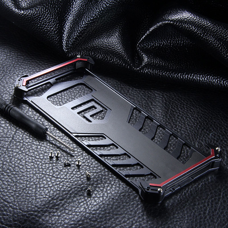 SEISMIK S-ONE Armor Man Shockproof Aluminum Shell Metal Case Cover for Samsung Galaxy Note 8