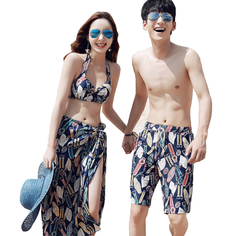 077ea33f75 Swimsuit female bikini three-piece Korean small fragrance couple sexy small  chest gathered slim Pingjiao hot spring swimsuit