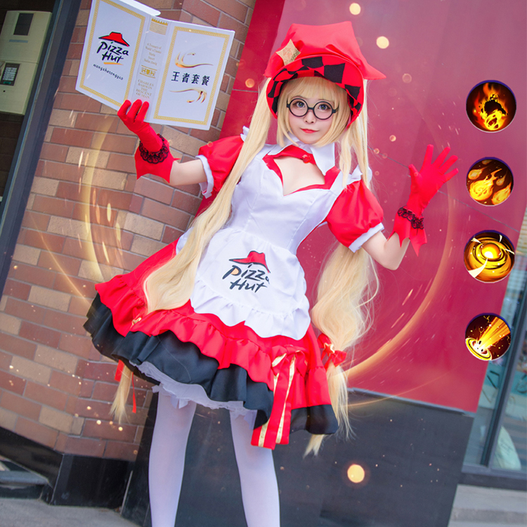Usd 52 61 King Cos Suit Glory Cos Angela Pizza Hut Cook Cosplay