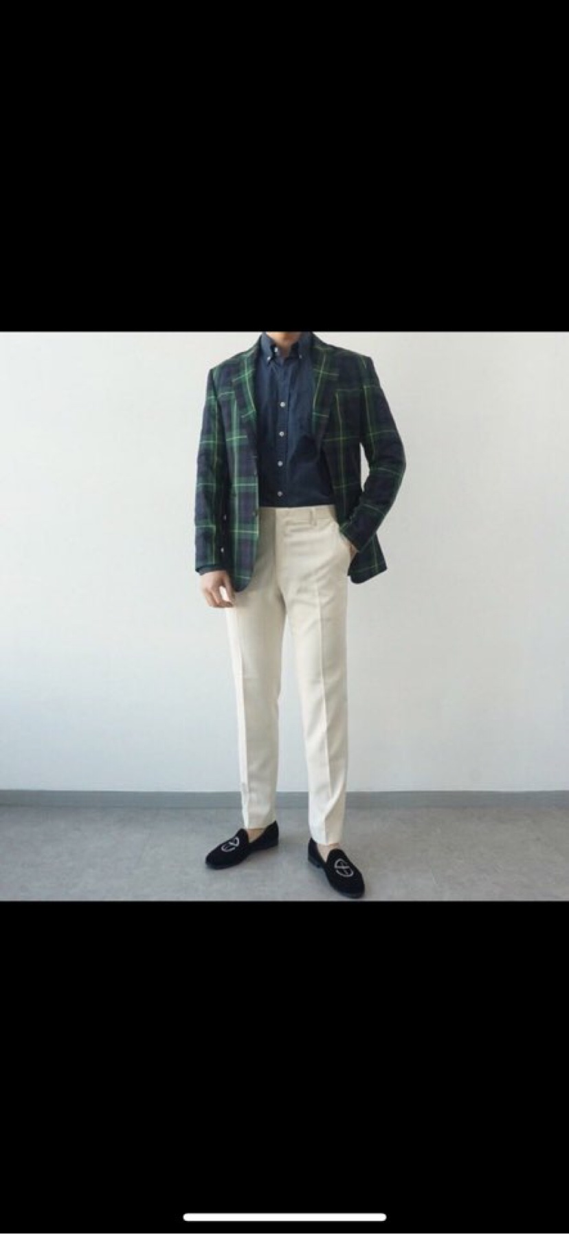 Dongdaemun của Hàn Quốc mùa xuân mới thẳng 9 điểm phù hợp với quần âu nam kiểu quần oppa - Suit phù hợp