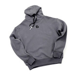 EASY SERIES Jane series gray warrior logo hoodie men plus velvet autumn and winter sports sweatshirt