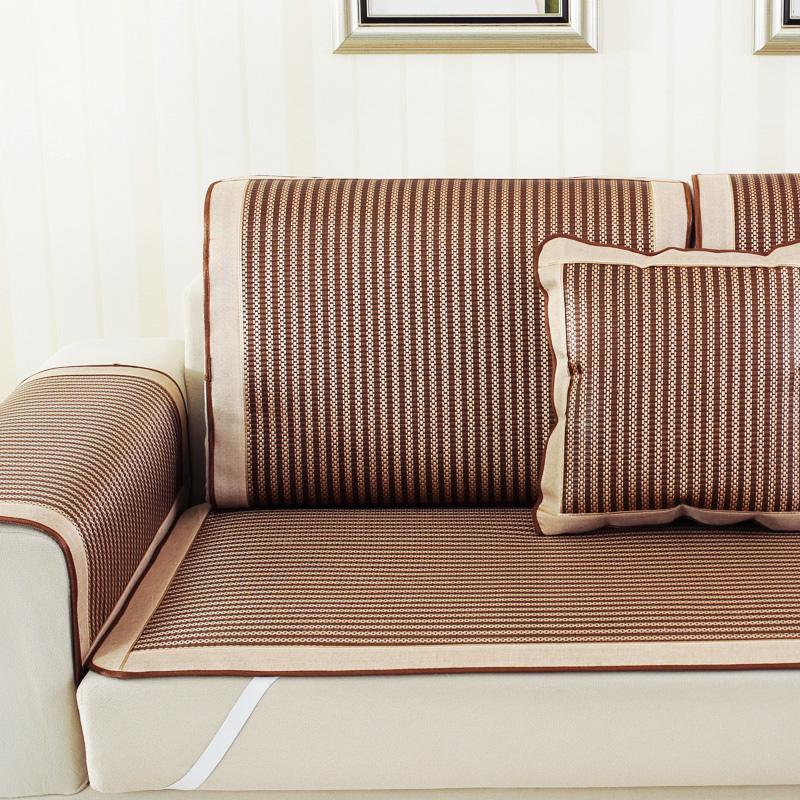 Также миша жировая ткань коврик подушка лето скольжение шелковый коврик сын виноградная лоза бамбук гостиная диван крышка общий лето прохладно подушка