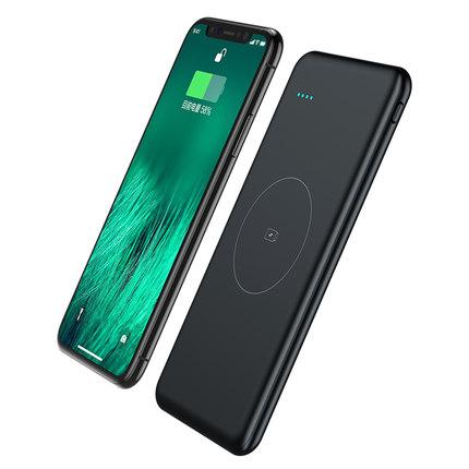 M20000无线充电宝iPhonex移动电源1W毫安苹果8三星s8QI快充80000